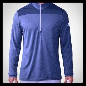 ADIDAS Lightweight UPF 1/4 Zip Golf Pullover-XL